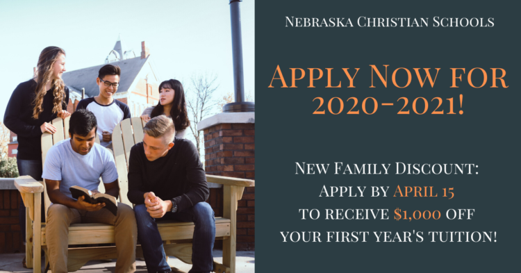 Apply Now for 2020-2021